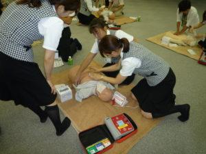 AED救急救命訓練