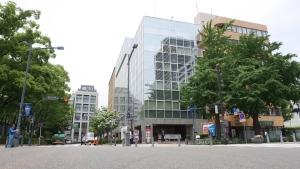 日本大通ビルパークホール外観