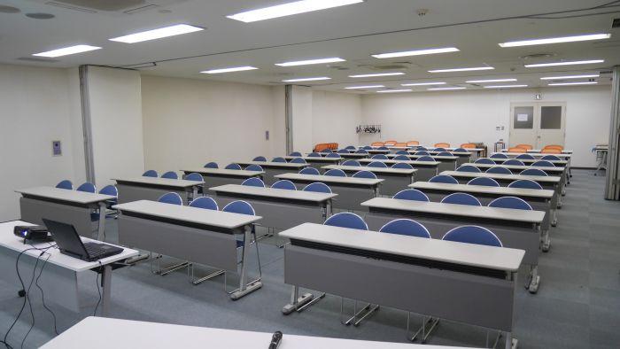 第一会議室+第二会議室+第三会議室の内観